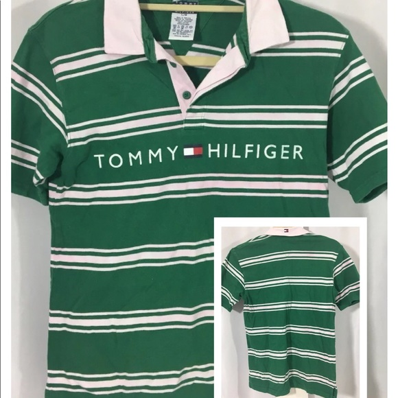 20cb4c90 Tommy Hilfiger Shirts & Tops | 425 Boys Polo Tommy Logo Sz L | Poshmark